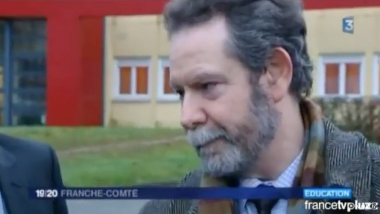 Visite du nouveau Recteur de L'académie de Besançon