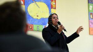 La mère d'Imad Ibn Ziaten assassiné par Mohamed Merah au collège Vauban