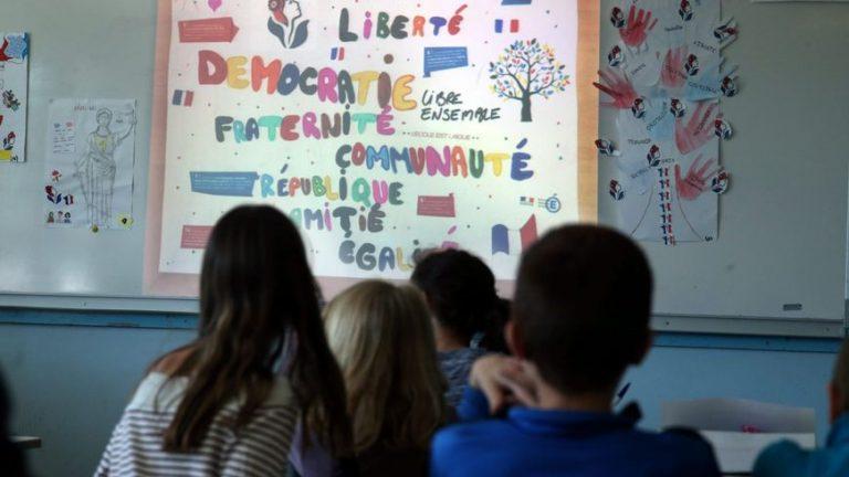Des élèves de maternelle apprennent la laïcité à Méziré – Et au collège Vauban aussi !
