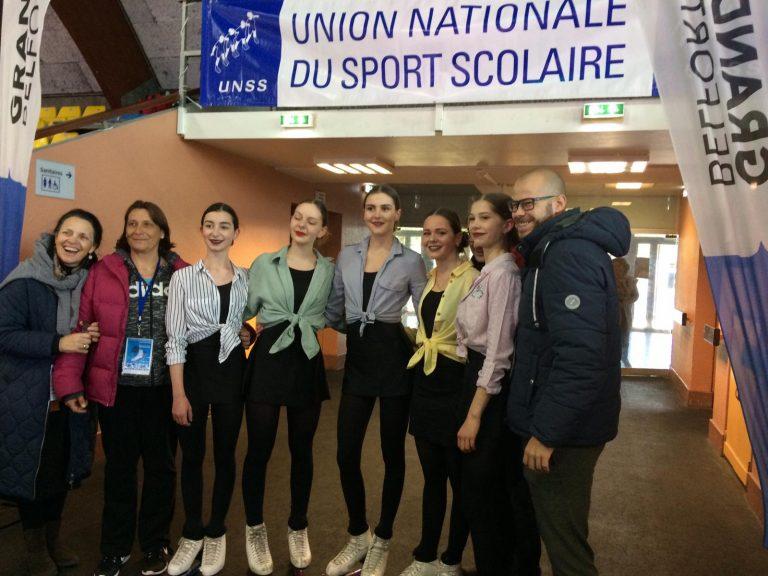 L'équipe Vauban aux championnats de France UNSS.