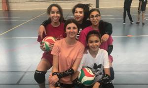 L'équipe de Volley-ball du collège Vauban