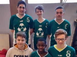 Le podium au Futsal !